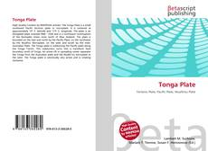 Bookcover of Tonga Plate