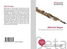 Bookcover of Albrecht Mayer