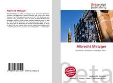 Albrecht Metzger kitap kapağı