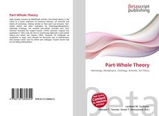Bookcover of Part-Whole Theory