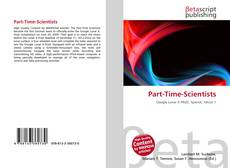 Bookcover of Part-Time-Scientists