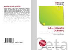 Albrecht Müller (Publizist)的封面