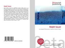 Capa do livro de Ralph Sauer