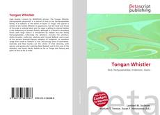 Tongan Whistler kitap kapağı