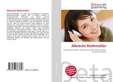 Albrecht Riethmüller kitap kapağı