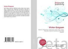 Capa do livro de Victor Grayson