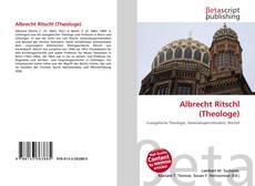 Обложка Albrecht Ritschl (Theologe)