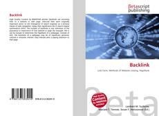 Bookcover of Backlink