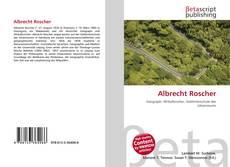 Bookcover of Albrecht Roscher