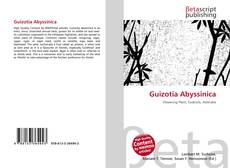 Bookcover of Guizotia Abyssinica