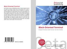 Bookcover of Block-Oriented Terminal