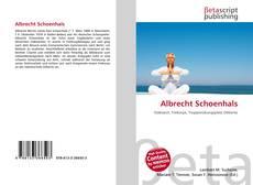 Bookcover of Albrecht Schoenhals