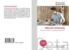 Bookcover of Albrecht Schönhals