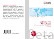 Buchcover von Albrecht von Alvensleben