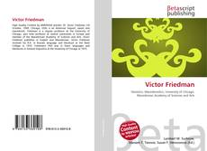 Bookcover of Victor Friedman