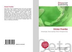 Buchcover von Victor Franke