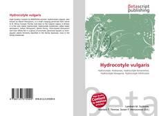 Bookcover of Hydrocotyle vulgaris