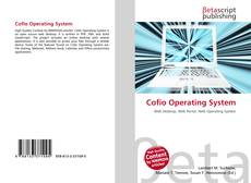 Bookcover of Cofio Operating System