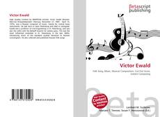 Capa do livro de Victor Ewald