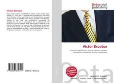 Capa do livro de Victor Escobar