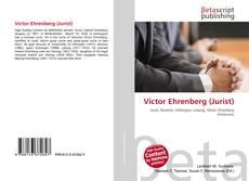 Portada del libro de Victor Ehrenberg (Jurist)