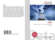 Bookcover of CUDI