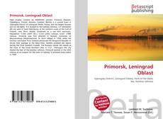 Primorsk, Leningrad Oblast的封面