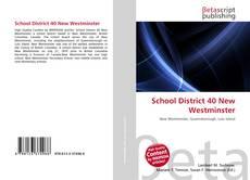 School District 40 New Westminster kitap kapağı