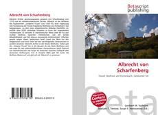 Albrecht von Scharfenberg的封面