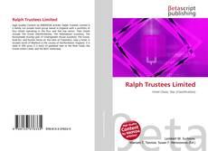 Ralph Trustees Limited的封面