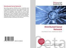Distributed Social Network kitap kapağı