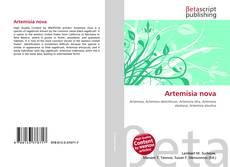 Bookcover of Artemisia nova