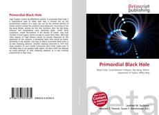 Capa do livro de Primordial Black Hole