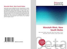 Bookcover of Waratah West, New South Wales