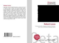 Buchcover von Robert Lovas