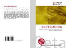 Bookcover of Victor David Brenner