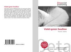 Bookcover of Violet-green Swallow