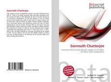 Somnath Chatterjee kitap kapağı