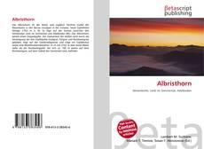 Обложка Albristhorn
