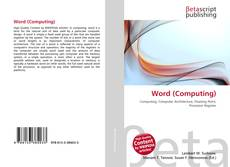Bookcover of Word (Computing)