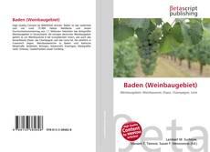 Baden (Weinbaugebiet) kitap kapağı