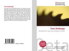Bookcover of Toni Amboaje