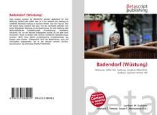 Bookcover of Badendorf (Wüstung)