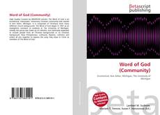 Bookcover of Word of God (Community)