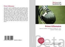 Primo Villanueva kitap kapağı