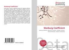 Borítókép a  Warburg Coefficient - hoz