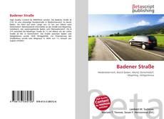 Capa do livro de Badener Straße