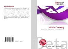 Bookcover of Victor Canning