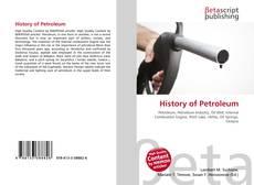 Обложка History of Petroleum