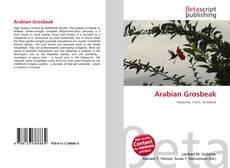 Arabian Grosbeak kitap kapağı